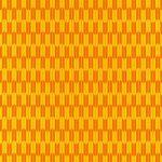 オレンジ色の矢絣・和柄のA4サイズ背景素材