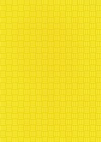 黄色の算崩し模様・和柄のA4サイズ背景素材