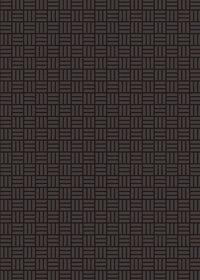 黒の算崩し模様・和柄のA4サイズ背景素材
