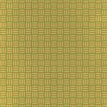 茶色と緑色の算崩し模様・和柄のA4サイズ背景素材