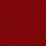 黒と赤色の算崩し模様・和柄のA4サイズ背景素材
