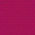斜めに傾いた黒とピンク色の青海波柄A4サイズ背景素材