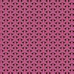 ピンクと黒の組亀甲柄A4サイズ背景素材