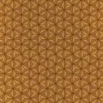 茶色の麻の葉柄A4サイズ背景素材