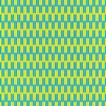 黄色と水色の矢絣・和柄のA4サイズ背景素材