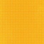 オレンジ色の算崩し模様・和柄のA4サイズ背景素材