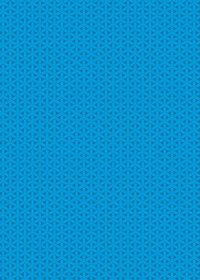 青の組亀甲柄A4サイズ背景素材