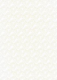 白い唐草模様柄A4サイズ背景素材