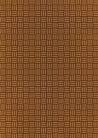 茶色の算崩し模様・和柄のA4サイズ背景素材