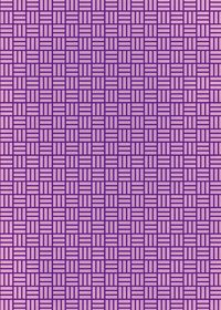 紫色の算崩し模様・和柄のA4サイズ背景素材
