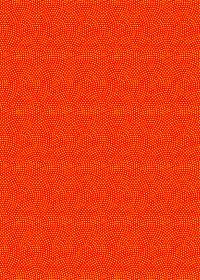 赤と黄色の鮫小紋模様・和柄のA4サイズ背景素材