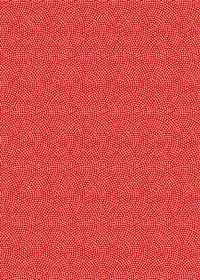 赤と白の鮫小紋模様・和柄のA4サイズ背景素材