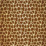 キリン模様・アニマル柄のA4サイズ背景素材