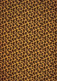 豹・レオパード模様・アニマル柄のA4サイズ背景素材