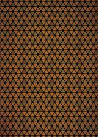 茶色のトライアングルが並ぶA4サイズ背景素材