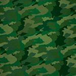 緑色の迷彩柄のA4サイズ背景素材データ