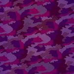 紫色の迷彩柄のA4サイズ背景素材