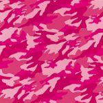 ピンク色の迷彩柄のA4サイズ背景素材