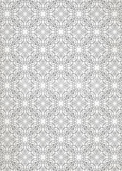 アラベスク柄壁紙のA4サイズ背景素材