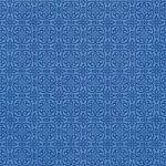青い西洋風模様のA4サイズ背景素材