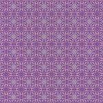 紫色の西洋風模様のA4サイズ背景素材
