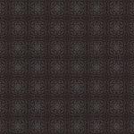 黒い西洋風模様のA4サイズ背景素材