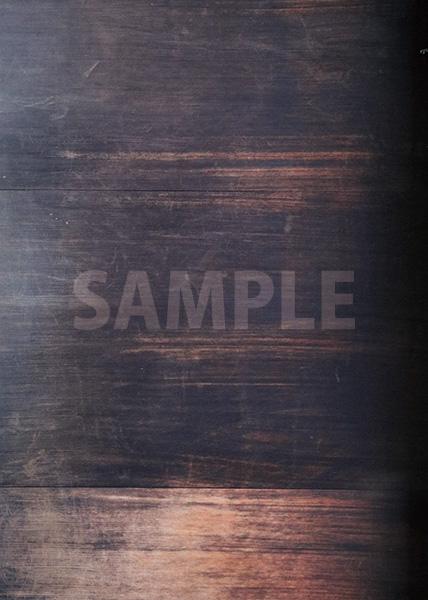 古びた木目のA4サイズ背景素材データ
