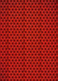 赤色のトライアングルが並ぶA4サイズ背景素材