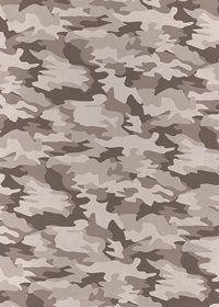 灰色の迷彩・カモフラージュ柄のA4サイズ背景素材