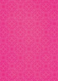 ピンク色のアラベスク柄のA4サイズ背景素材