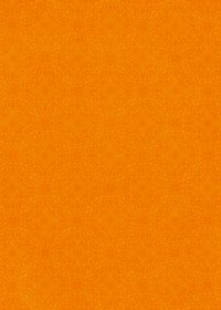 オレンジ色のアラベスク柄のA4サイズ背景素材