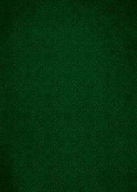 緑色のアラベスク柄のA4サイズ背景素材