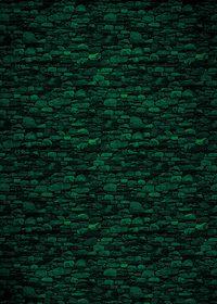 緑色の石ブロックのA4サイズ背景素材