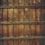 木の塀のA4サイズ背景素材