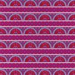 ピンク色のエスニック調のA4サイズ背景素材