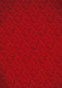 赤色のおどろどろしい渦柄A4サイズ背景素材