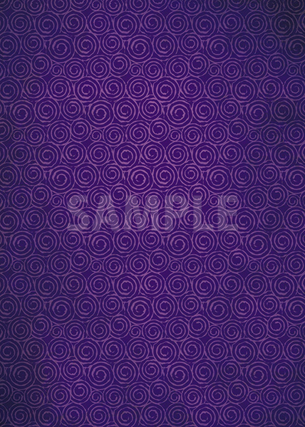 紫色のおどろどろしい渦柄A4サイズ背景素材