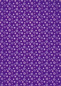 紫色の星型が散らばるA4サイズ背景素材