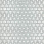 グレーの雪の結晶柄A4サイズ背景素材