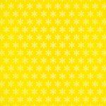 黄色の雪の結晶柄A4サイズ背景素材