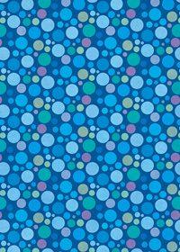 青色のマルチドット柄A4サイズ背景素材