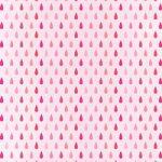 ピンク色のドロップ柄A4サイズ背景素材