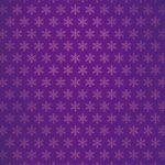 紫色の雪の結晶柄A4サイズ背景素材