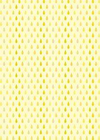 黄色のドロップ柄A4サイズ背景素材