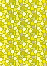 黄色のマルチドット柄A4サイズ背景素材