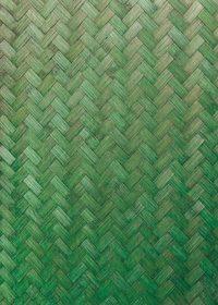 緑色に着色した木板が組み合うテクスチャーA4サイズ背景素材