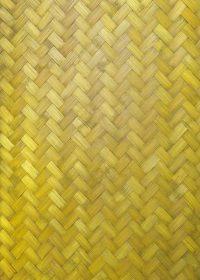 黄色に着色した木板が組み合うテクスチャーA4サイズ背景素材