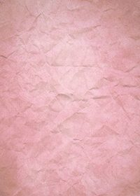 ピンク色のくしゃくしゃな紙のA4サイズ背景素材