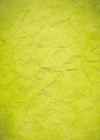 黄色のくしゃくしゃな紙のA4サイズ背景素材