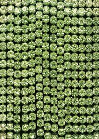 緑色のスパンコールがキラリと光るA4サイズ背景素材
